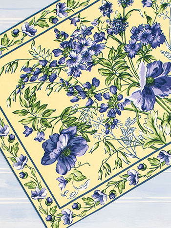Wildflower Meadow Placemat Set Of 4 Linens Amp Kitchen