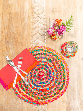 Manana Braid Placemat Set of 4