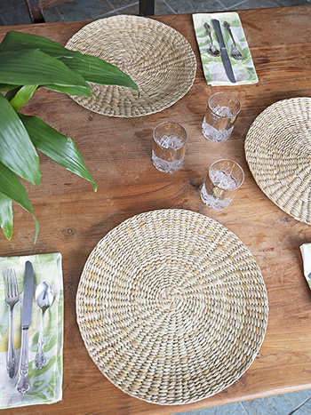 Alfresco Seagrass Single Placemat