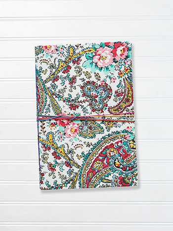 Medium Notebook - Garden Paisley