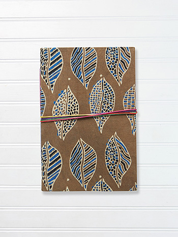 Medium Notebook - Nature's Leaf