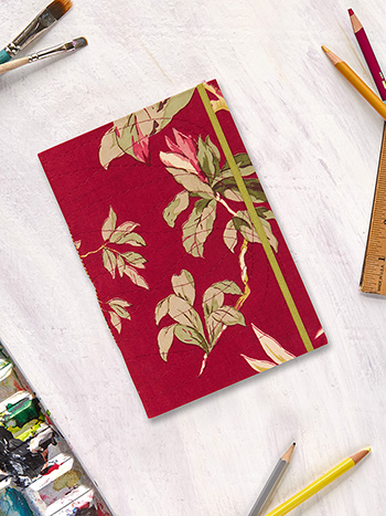 Hydrangea Dream Plain Notebook