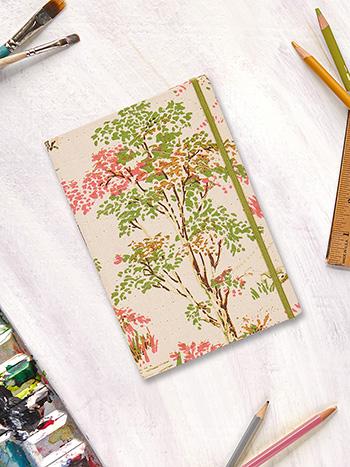 Meadow Walk Plain Notebook