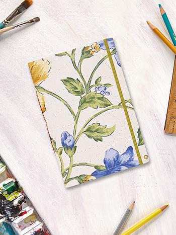 Rosehip Plain Notebook