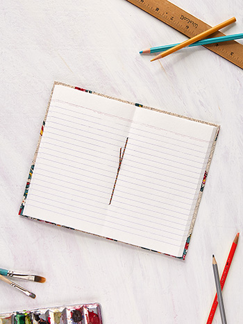 Belle Vue Ruled Notebook