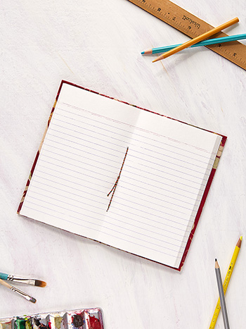 Hydrangea Dream Ruled Notebook