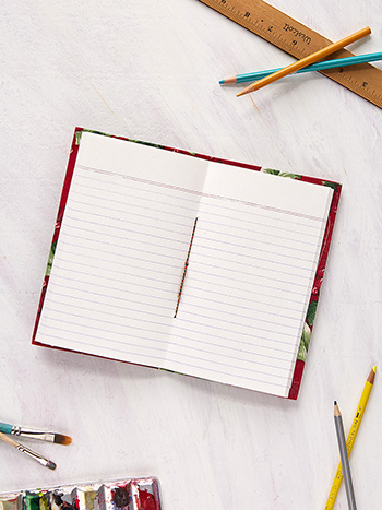 Holly Ruled Notebook