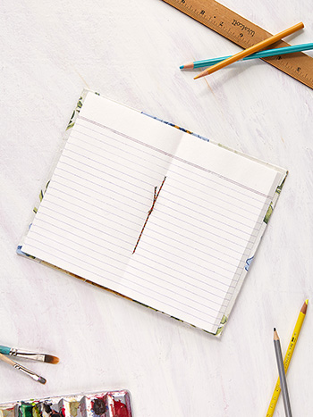 Rosehip Ruled Notebook