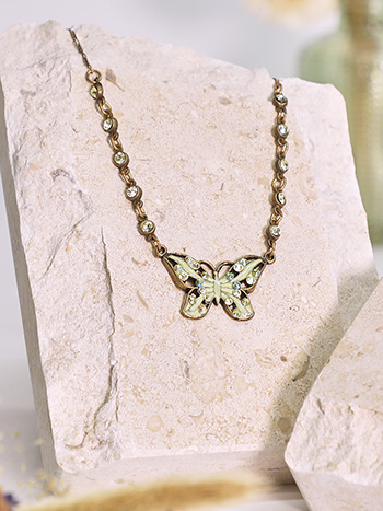 Madeline's Butterfly Necklace