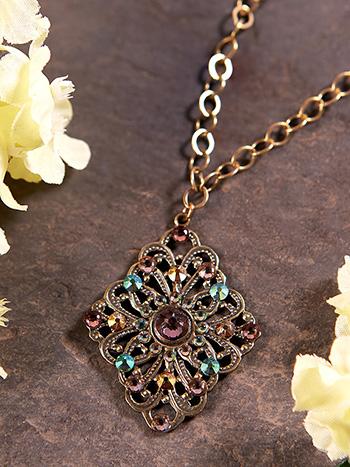 Plum Perfect Necklace