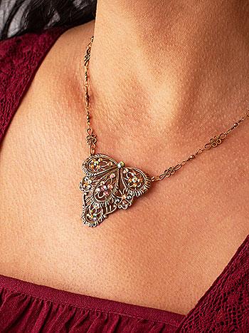Viola Renaissance Necklace