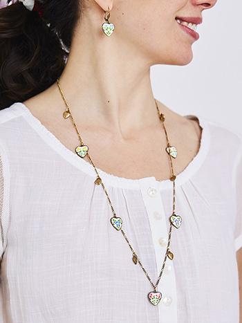 Jill's Garden Charm Necklace