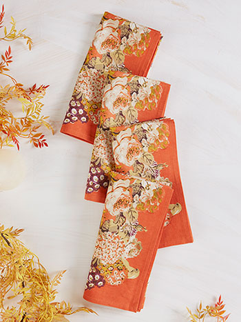 Autumn Gathering Napkin Set of 4