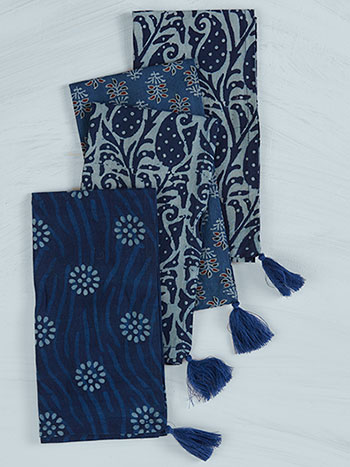 Bohemian Indigo Napkin Set of 4