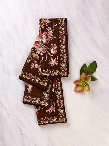 Cottage Rose Napkin Set of 4