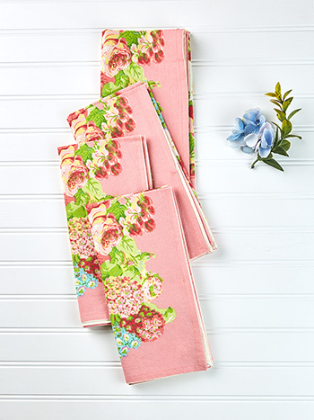 Spring Gathering Napkin Set of 4