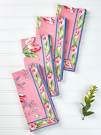Tulip Dance Napkin Set of 4