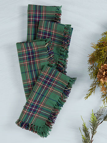 Balsam Plaid Napkin Set of 4