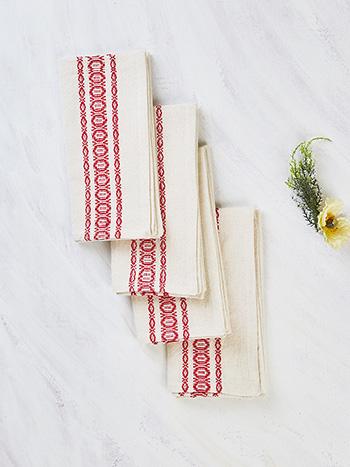 Heritage Stripe Napkin Set of 4