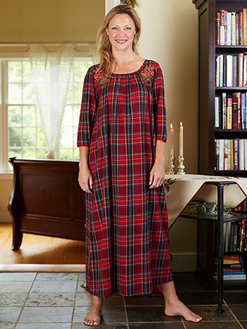 Carole Plaid Nighty