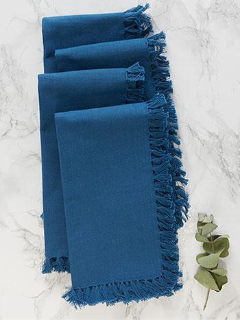 Essential Napkin Set of 4 - Blue
