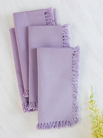 Essential Napkin Set of 4 - Lavender
