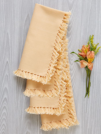 Essential Napkin Set of 4 - Cream