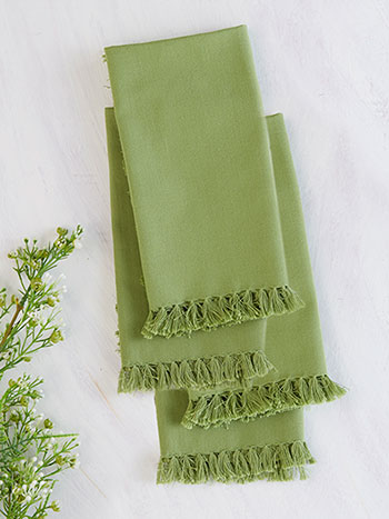 Essential Napkin Set of 4 - Green