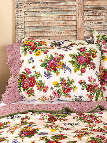 Artist Garden Pillowcase