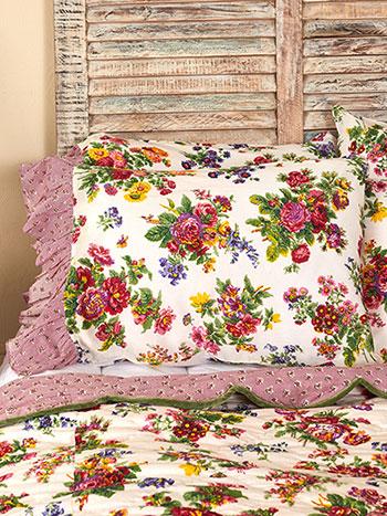 Artist Garden Pillowcase