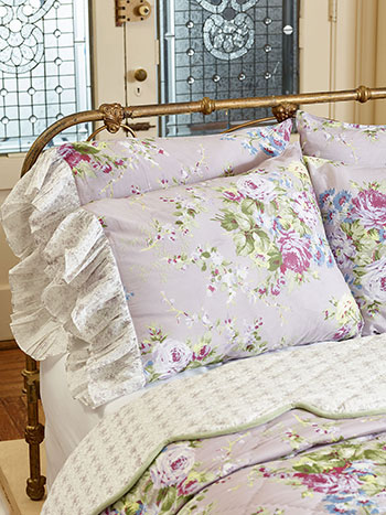 Cottage Rose Pillowcase