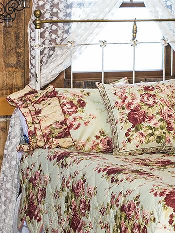Cottage Rose Pillowcase