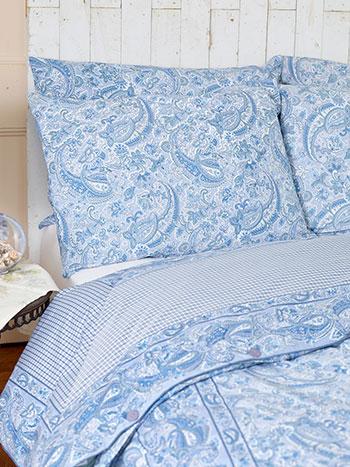 Priscilla's Paisley Pillowcase