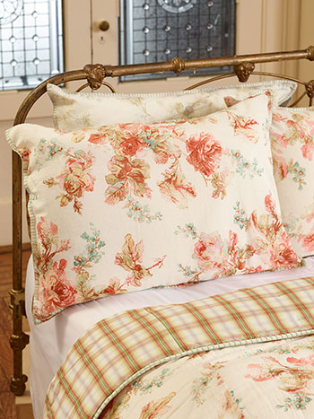 Victorian Rose Pillowcase