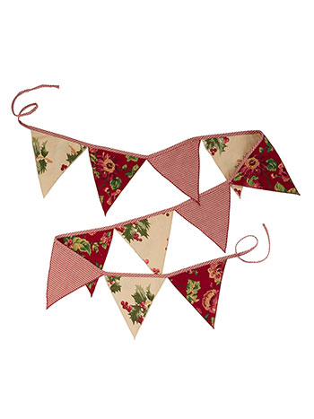 Christmas Patchwork Pennants