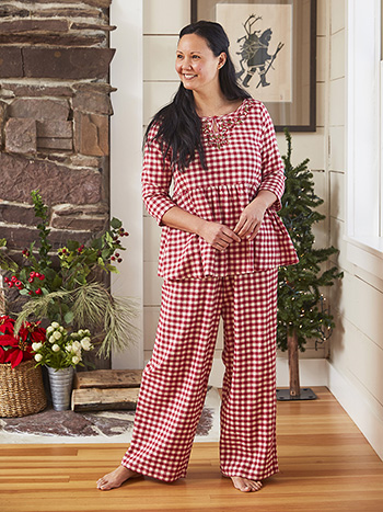 Homestead Check Pajama
