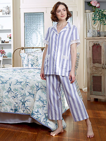 Nantucket Stripe Pajama