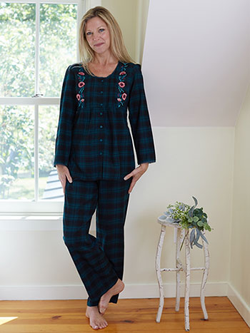 Forest Plaid Pajama
