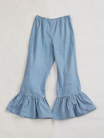 Seaside Stripe Girls Pant