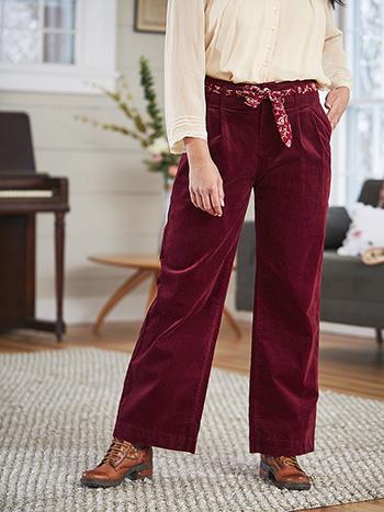 Hepburn Velvet Pant