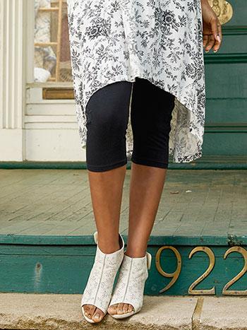 Tapestry Cropped Legging