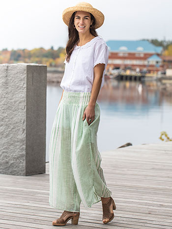 French Stripe Pant