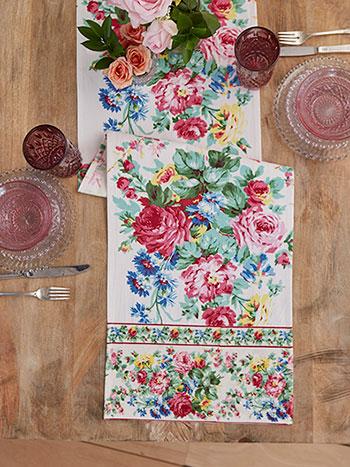 Cottage Rose Runner