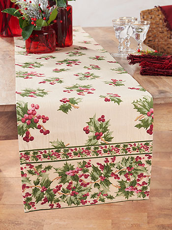 Holly Berry Runner