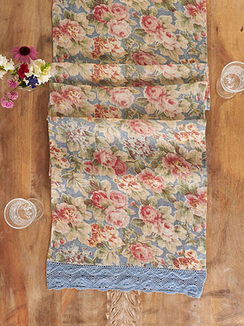 Cotillion Linen Runner