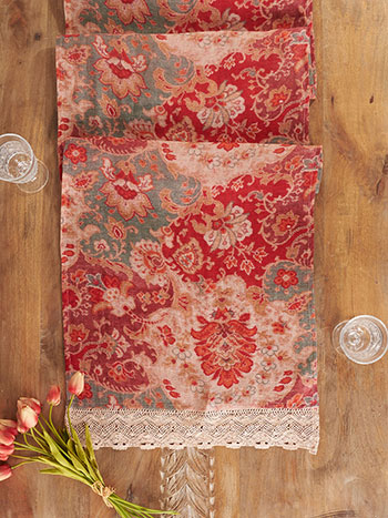Magic Carpet Linen Runner