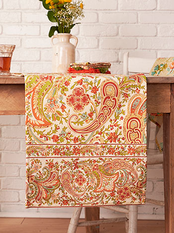 Paisley Fresco Runner