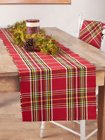 Fireside Tartan Plaid Runner