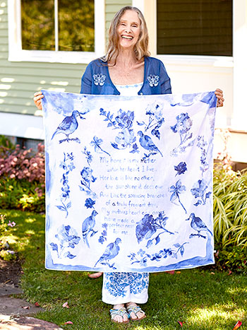 Mother's Poem Scarf