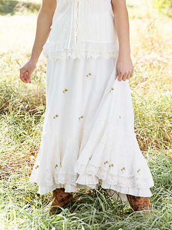Prairie Flower Skirt